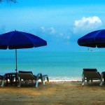 White Sandy Beach in Khao Lak Thailand