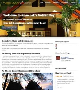 Ao Thong Beach Website