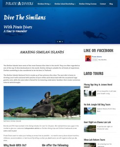 Pirate Divers Website