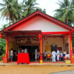 Chinese temple in Bang Niang, Khao Lak, Thailand