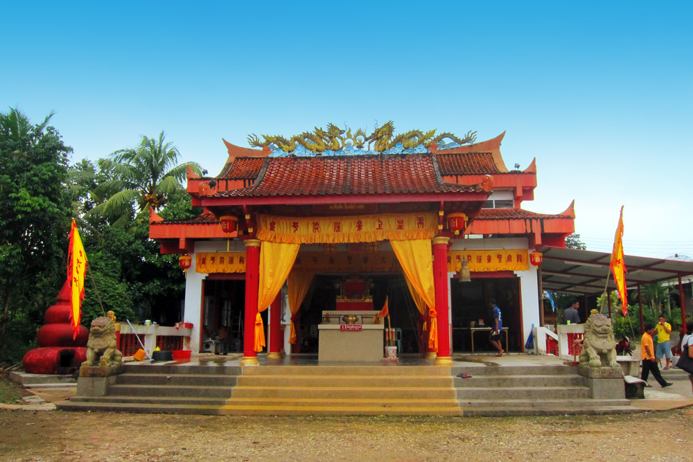 San Jao Bun Tao Gong Temple, Khuk Khak Chinese Temple, Khao Lak, Thailand