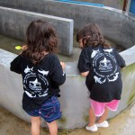 Children at the Phang Nga Fisheries Centre