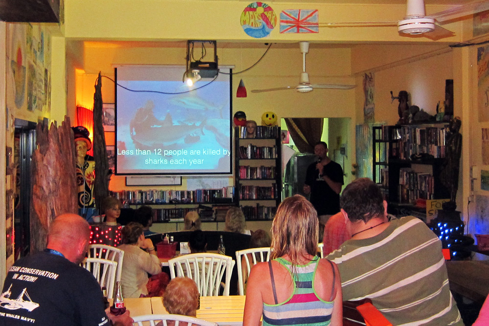 Shark Guardian presentation at Mar Bar Khao Lak