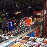 The buffet at Chonticha 2 Khao Lak restaurant