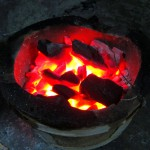 Charcoal barbeque at Chonticha 2 Khao Lak restaurant