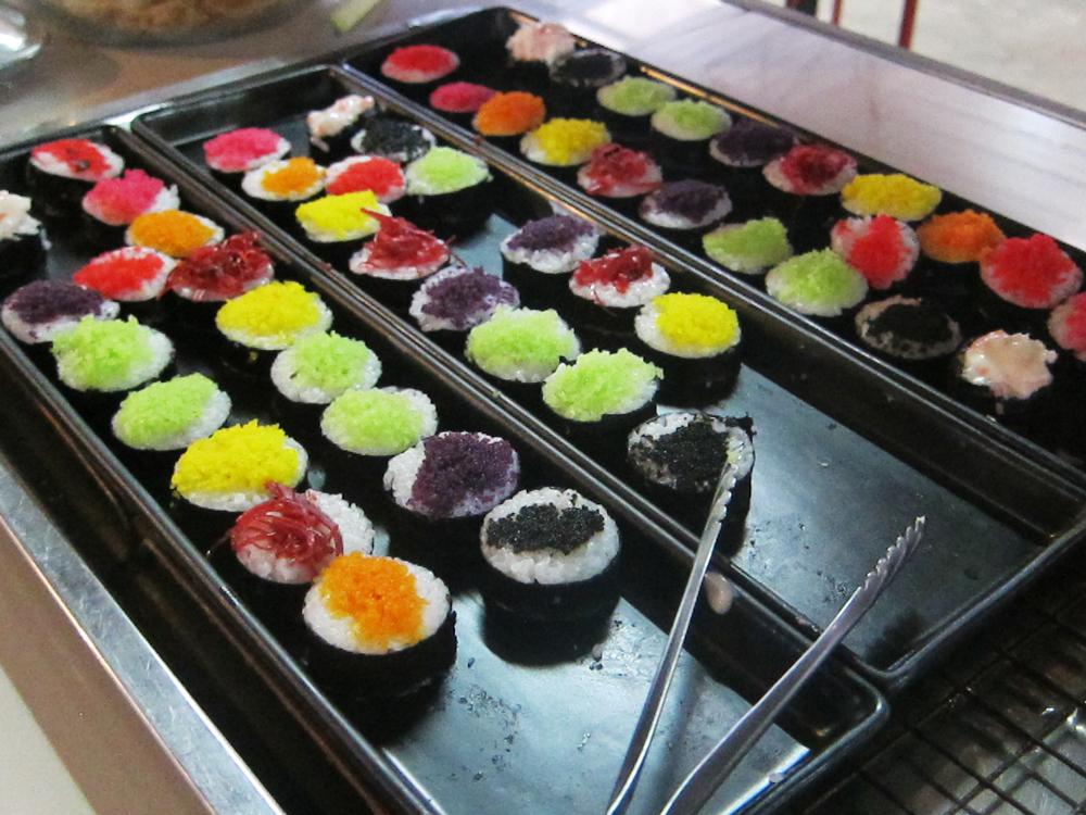 Sushi at Chonticha Mookrata in Khao Lak Thailand