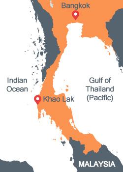 Kra Isthmus Thailand