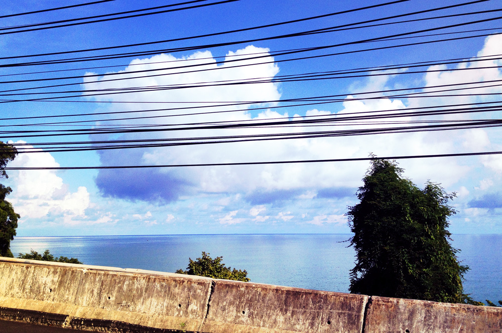 Clouds over the Andaman Sea