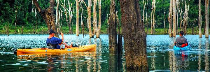 Khao Sok kayakers