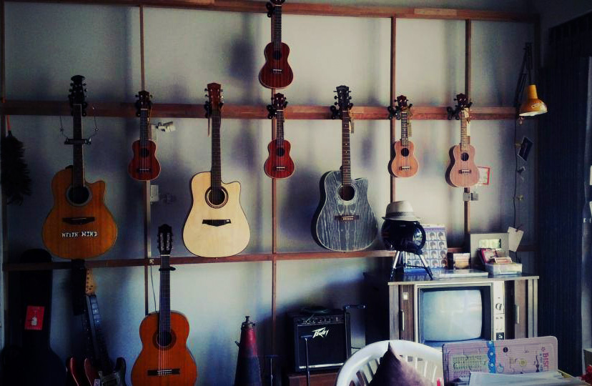 A whole range of Guitars and Ukuleles for sale in Khao Lak Thailand