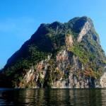 Limestone mountains in Khao Sok Lake Thailand