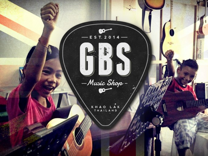 Music lessons at GBS Music Shop Khao Lak Thailand
