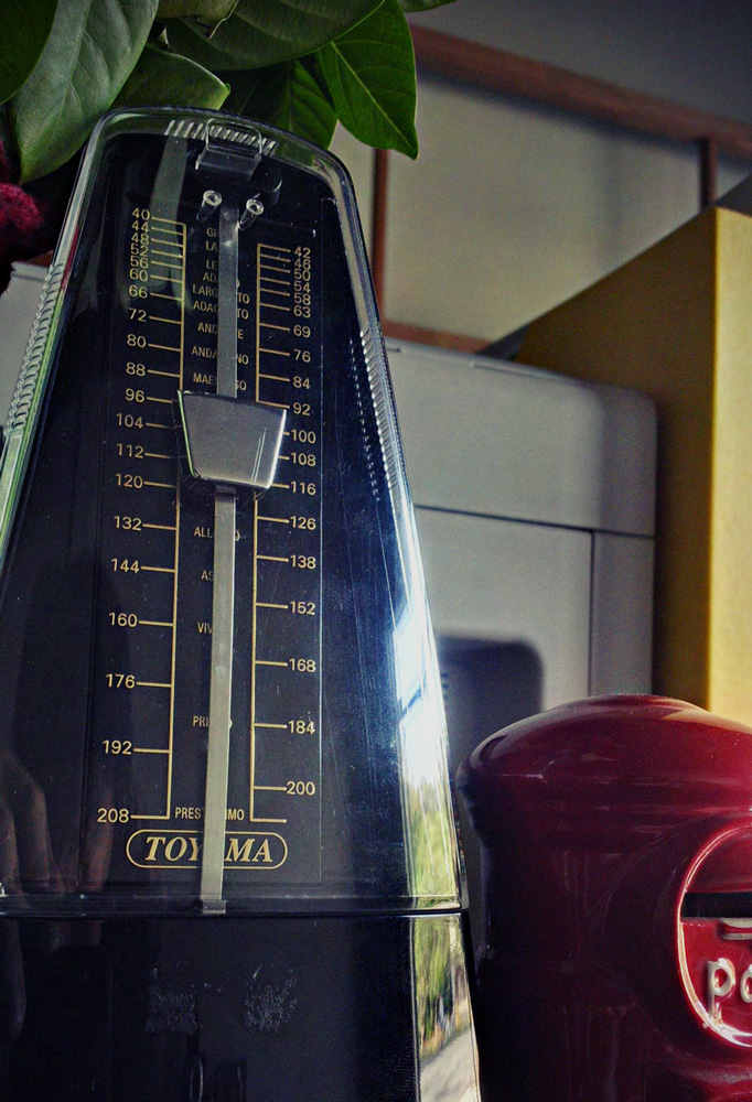 Metronome at GBS Music Shop Khao Lak Thailand