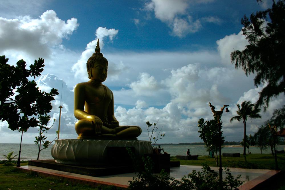 Clouds over Ban Nem Kem Tsunami Memorial Park, Thailand
