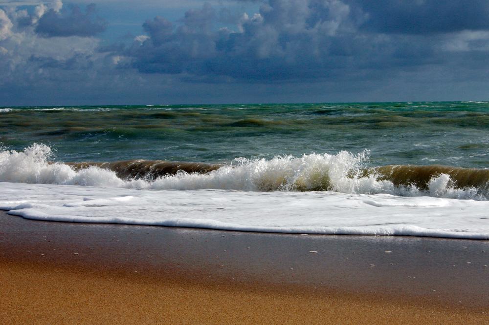 Andaman Sea at Ban Nam Kem, Thailand