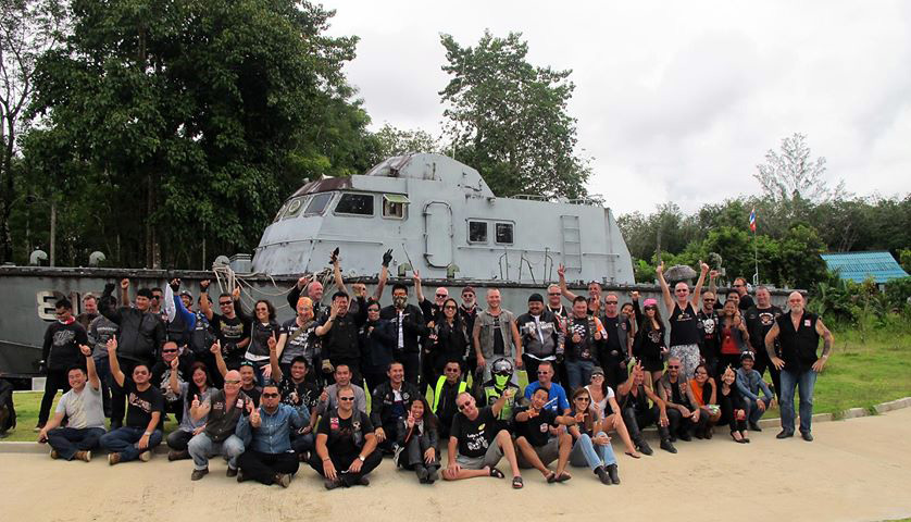 Ride 4 Kids and Khao Lak Police Boat