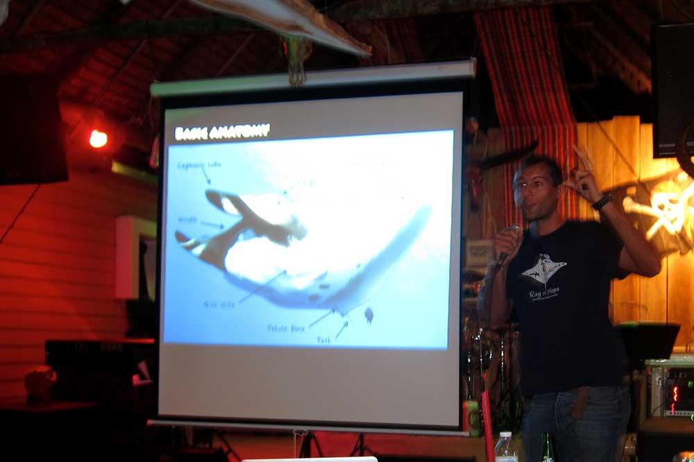 Dr Fabrice Jaine Presents at Sparrow Bar
