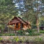 Bungalow settings on Koh Prathong