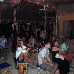 The audience at Sparrow Bar