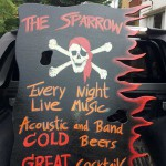 New Sign for Sparrow Bar