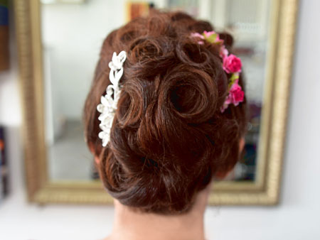 Wedding hair styling and makeup in Khao Lak
